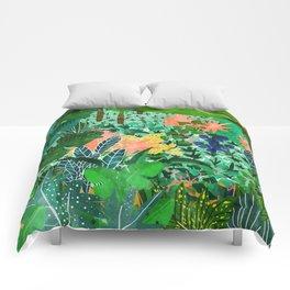 Dense Forest Comforters