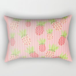 Pineapple Rain Rectangular Pillow