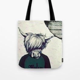 Yak Head Tote Bag
