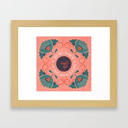 We Were Seeds Framed Art Print