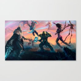 Heroes of the Storm Canvas Print