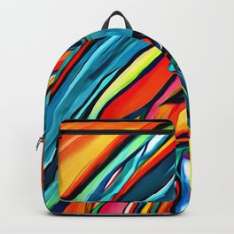 My Very Eva 1st 'WATER~COLOR' painting Backpack