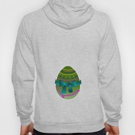 Egg green and blue Bow 03 Hoody