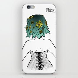 Hairstyle #13 iPhone Skin