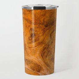 Natural Stone Art-The Cistern, Gold Butte, NV Travel Mug