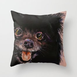 Chien Throw Pillows Society6