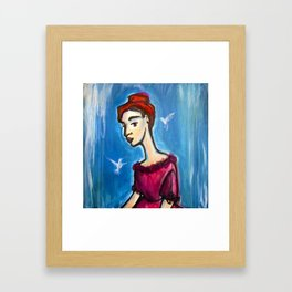 Hungry Ghosts Framed Art Print