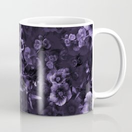 Moody florals purple by Odette Lager Coffee Mug