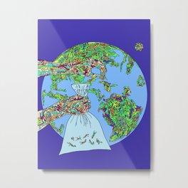 Space Picker Metal Print