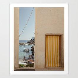 Escape to the islands Art Print