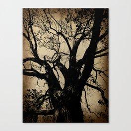 The imaginary tree Canvas Print
