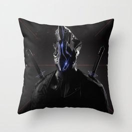 Cyborg Throw Pillow