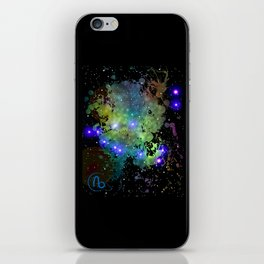 The Zodiac Sign -- Capricorn iPhone Skin