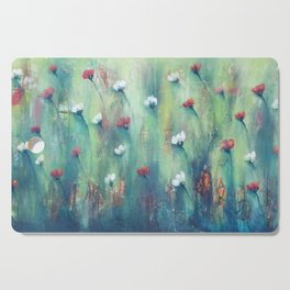 Dancing Field of Flowers Cutting Board
