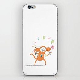 Artist Monkey iPhone Skin