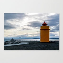 Lighthouse at the Point Canvas Print