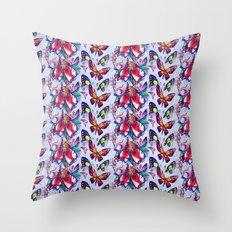 Flight of the Butterflies Throw Pillow