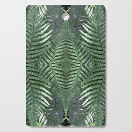 Bronx Botanical Garden Green Ferns Cutting Board