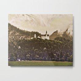 Castle Neuschwanstein Metal Print