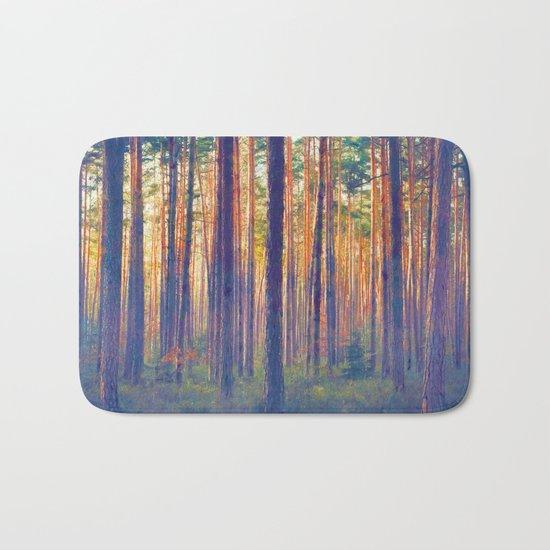 Forest - Filtering light Bath Mat