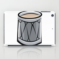 drum iPad Cases featuring Drum by shopaholic chick
