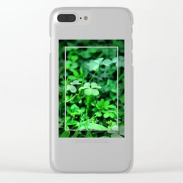 Clover Stay Clear iPhone Case