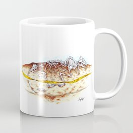 Sleuthing for Fossils Coffee Mug
