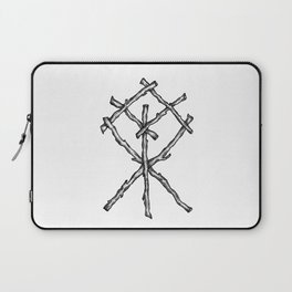Rune Binding Laptop Sleeve