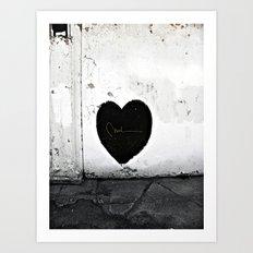 Street Heart Art Print