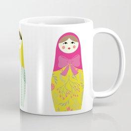 Colorful Russian dolls Coffee Mug