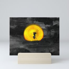 You may not be able to fight like a Samurai, but at least you can die like. Mini Art Print