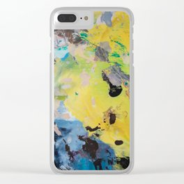 The Artist's Remains #1 Clear iPhone Case