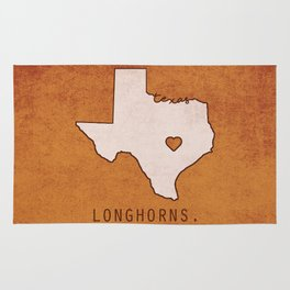 Texas Longhorns Rug