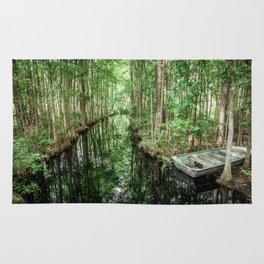 Swamp Boat Rug