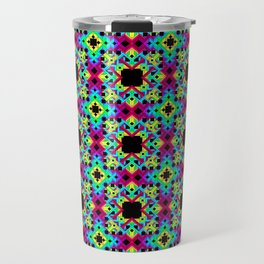 Geometric Colors 2 Travel Mug