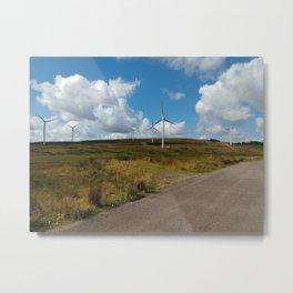 Hill Top Wind Farm Metal Print