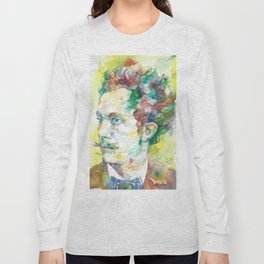 RICHARD STRAUSS - watercolor portrait.2 Long Sleeve T-shirt