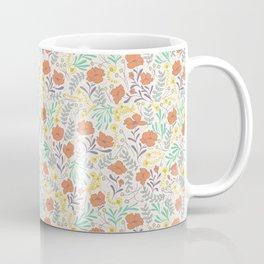Colorful Peonies Coffee Mug