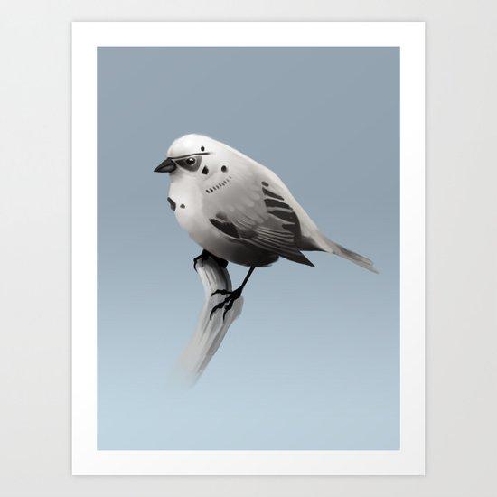 Bird Trooper Art Print