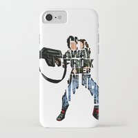 ripley iPhone & iPod Cases featuring Ellen Ripley from Alien by Ayse Deniz