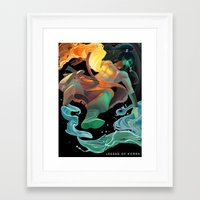 avatar Framed Art Prints featuring Avatar by Andrea Montano