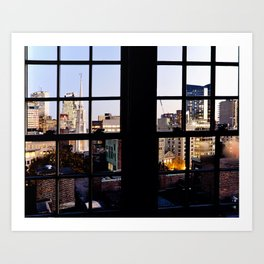 View from the Top, Boston Art Print