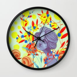 queen of peace Wall Clock