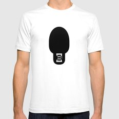 alien Mens Fitted Tee White SMALL