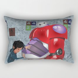 Big Hero 6 Fan Art Rectangular Pillow