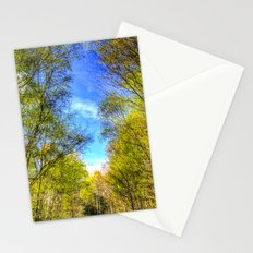 A walk through the Forest Stationery Cards