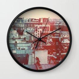 Paris Revisited Wall Clock