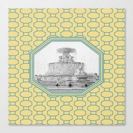 Detroit, Michigan_Scott Fountain_Belle Isle Canvas Print