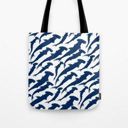 Hammerhead Shark Exodus Tote Bag