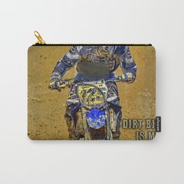 Dirtbiking Is My Religion / MX Champion Carry-All Pouch